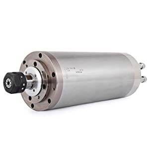Mophorn CNC Spindle Motor 3KW CNC Spindle Kits ER20 Water Cooled Spindle Motor 8000-24000 R/min For CNC Router Engraving Milling Machine (Tamaño: 3KW)