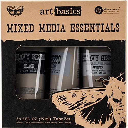 prima-marketing-finnabair-art-basics-mixed-media-essentials-3-per-pack-2-oz-clear-white-black-gesso