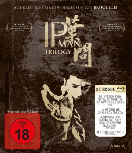 IP Man 1-3 - Trilogy [Alemania] [Blu-ray]