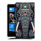 Head Case Elephant Aztec Animal Faces Hard Back Case Cover For Nokia Lumia 800