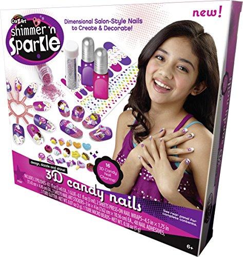 Cra-Z-Art Shimmer N Sparkle 3D Candy Nails - 1