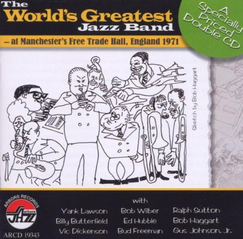 Manchester's Free Trade Hall England 1971 by World's Greatest Jazz Band
