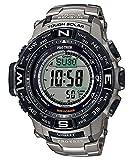 [カシオ]CASIO 腕時計 PROTREK プロトレック MULTI FIELD LINE マルチフィールドライン PRW-3500T-7 チタン メン...