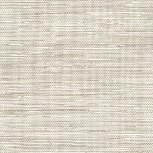 Norwall textures faux grasscloth wallpaper light tan for Paintable grasscloth wallpaper