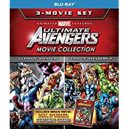 Ultimate Avengers 3 Movie Collection [Blu-ray]