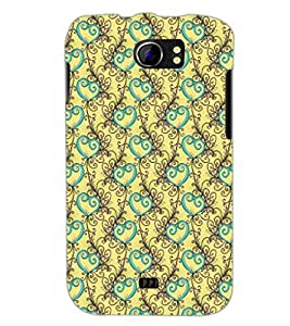 PrintDhaba Pattern D-5328 Back Case Cover for MICROMAX A110Q CANVAS 2 PLUS (Multi-Coloured)
