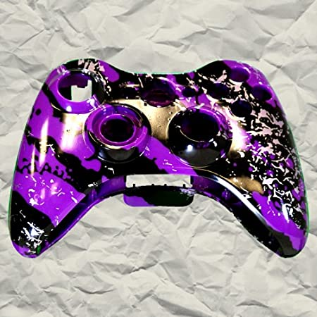 Purple Marble XBOX 360 Controller Shell | Controller Mod
