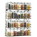 Saganizer 4 Tier spice rack spice organizer, wall spice rack, great idea for spice storage, designed spice shelf