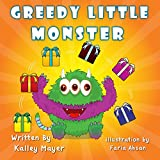 Greedy Little Monster: Beautifully Illustrated Childrens Book for Beginner Readers (Ages 2-6): Going to Sleep Picture Book (Little Monster Series for Beginner Readers 5)