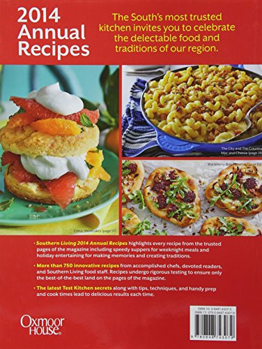 southern living annual recipes 2014 over 750 recipes from 2014 food