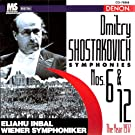 Dmitry Shostakovich: Symphonies No.6 & No.12 (The Year 1917)