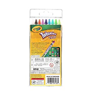 Crayola 18 Ct Twistables Colored Pencils (Color: Assorted, Tamaño: 18 Ct)