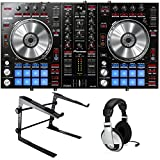 Pioneer DDJ-SR Serato DJ Controller Bundle with Stand and Headphones