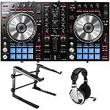 Pioneer DDJ-SR Serato DJ Controller Bundle with Stand and Headphones