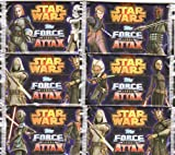 Star Wars Force Attax Serie 4 Card Collection - 6 Booster-Pack mit je 5 Star Wars -Karten pro Packung DEUTSCHE AUSGABE