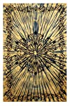 Sunshine Joy® Celtic Tattoo Tie-Dye Tapestry – 60×90 Inches – Dorm Decor – Beach Sheet – Hanging…