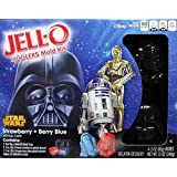 Jell-O Star Wars Jigglers Mold Kit, Strawberry + Blue Berry Gelatin