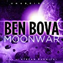 Moonwar Audiobook by Ben Bova Narrated by Stefan Rudnicki