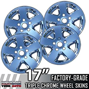 "2009-2011 Dodge Ram 17"" Chrome Wheel Skin Covers"