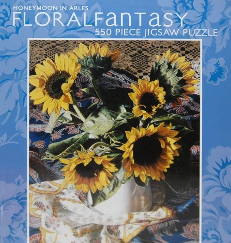 "Floral Fantasy 550-Piece Jigsaw Puzzle ""Honeymoon in Arles"""