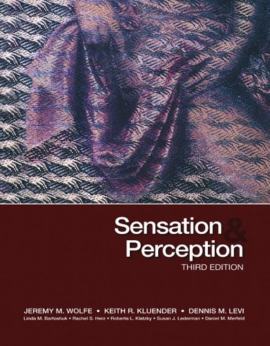 Sensation  Perception Third Edition087905154X
