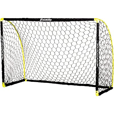 Franklin Sports Blackhawk Insta Set Portable Soccer Goal, 6 x 4'