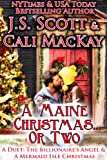 img - for A Maine Christmas...Or Two: A Duet (The Billionaire's Angel & A Mermaid Isle Christmas) book / textbook / text book