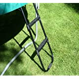 Premium Ladder for 8ft and 10ft trampolines. Universal with wide tread steps.