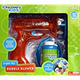 Discovery Kids Light-up Bubble Blower Gun (Colors Vary)