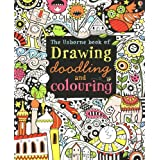 Drawing, Doodling and Colouring Book (Art Ideas) (Usborne Drawing, Doodling and Colouring)by Fiona Watt