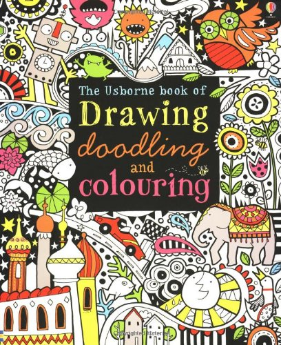 Drawing, Doodling and Colouring Book (Art Ideas)