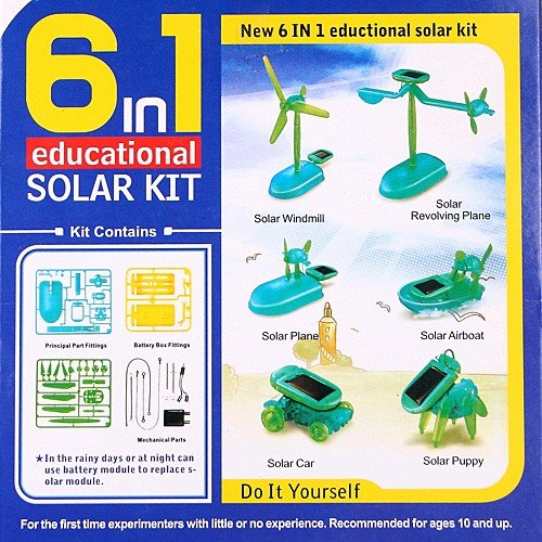 Best Tinker Toys For Kids : Diy educational solar kit tinker toy kids gift in