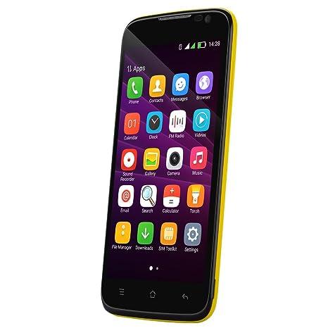 Blackview Zeta - Smartphone 5 pouces / Écran 720p IPS / CPU Octa core / 1Go de RAM / Dual SIM / Caméra 5MP avant + 8MP arrière / Orange