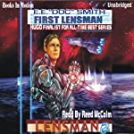 First Lensman: Lensman Series (       UNABRIDGED) by E. E. 'Doc' Smith Narrated by Reed McColm