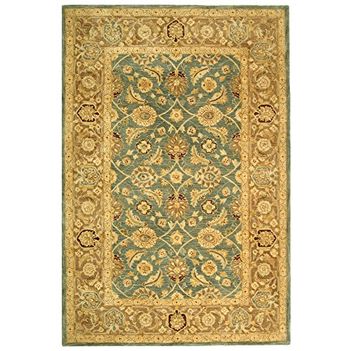 Safavieh anatolia collection handmade rug blue brown 8 for Home accents rug collection