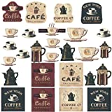 RoomMates RMK1254SCS Coffee House Decals