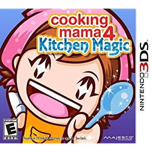 Cooking Mama 4: Kitchen Magic for Nintendo 3DS