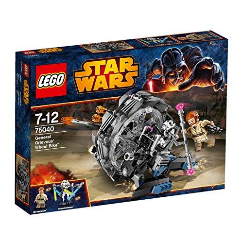 レゴ (LEGO) スター・ウォーズ グリーヴァス将軍のホイールバイク 75...