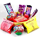 Cadbury Dairy Milk Assorted Chocolate Hamper For Holi (Gift Hamper 02)