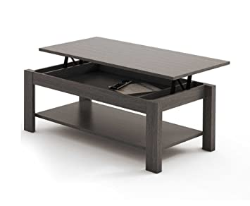 MESA DE CENTRO ELEVABLE HIGH QUALITY. CENIZA