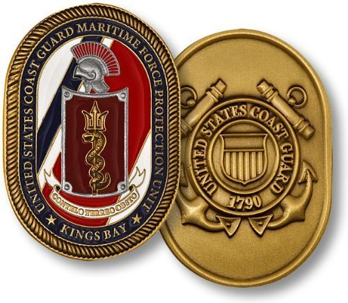 Coast Guard Maritime Force Protection Unit Challenge Coin