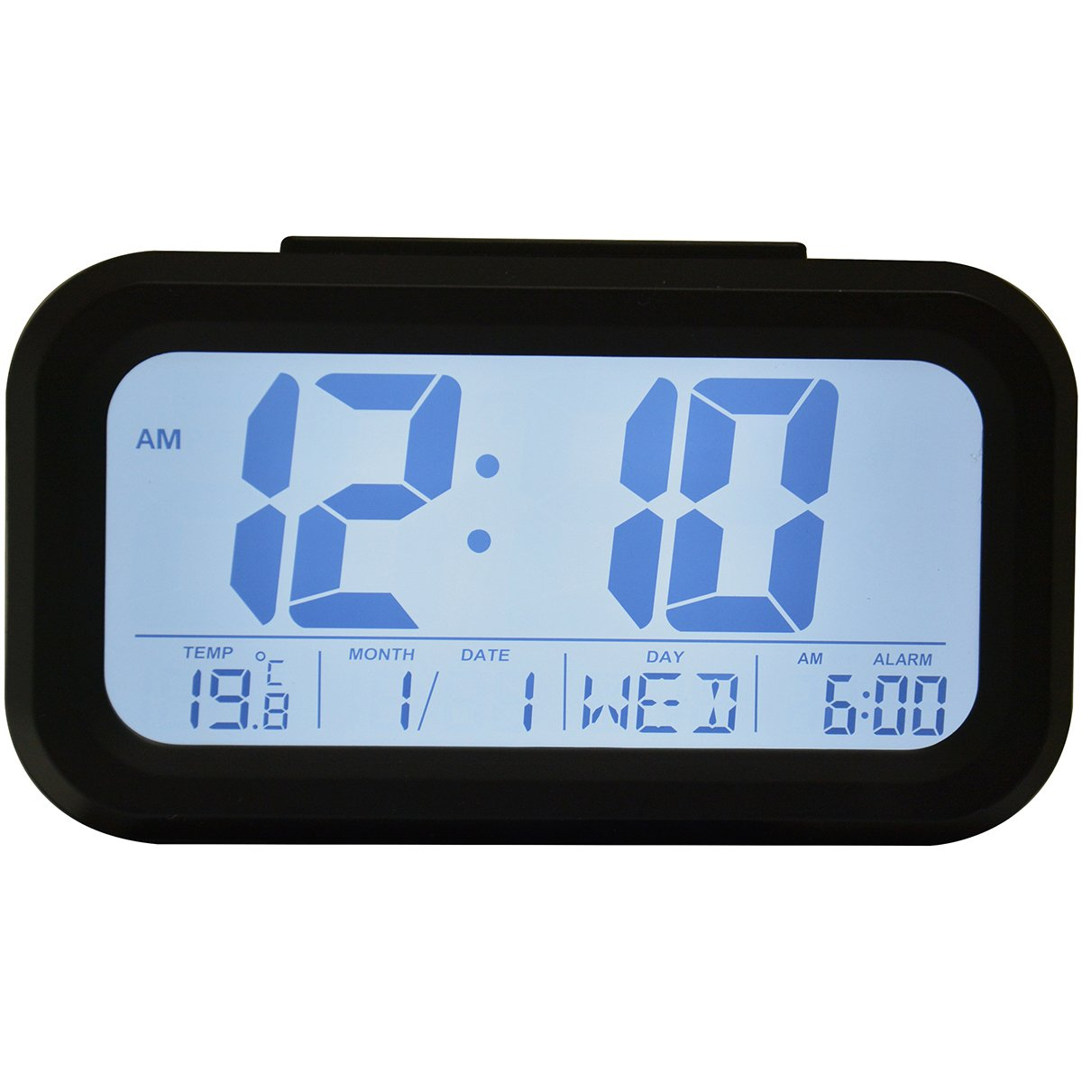 Top 10 Best Portable Digital Alarm Clocks With Large