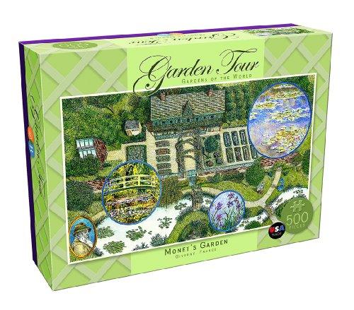 DB & Company Monet's Garden Tour Puzzle (500-Piece)