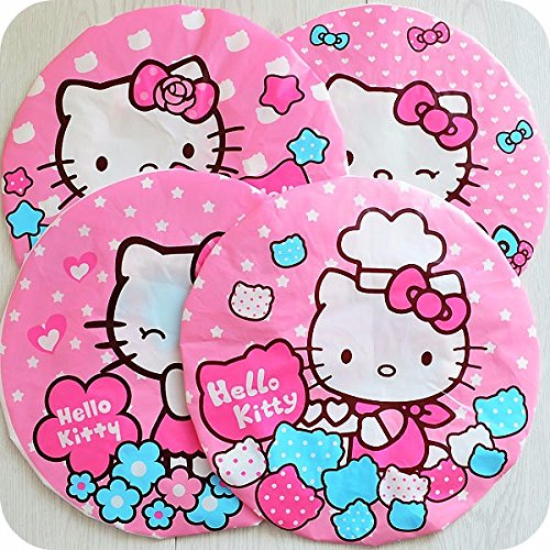 Kawaii Pink Hello Kitty Waterproof Shower Cap Beauty Town Beauty Care Accessories Shower Caps Hotel Shower Hat Dot Bath HatsKawaii Pink Hello Kitty Waterproof Shower Cap Beauty Town Beauty Care Accessories Shower Caps Hotel Shower Hat Dot Bath Hats ( 1 Pcs Random Design) (Barbie Comforter Full compare prices)