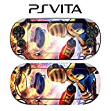 Sonic The Hedgehog Decorative Video Game Decal Cover Skin Protector for Sony PlayStation PS Vita