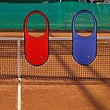 テニス上達! プロマスターターゲット レッド (a417a)
