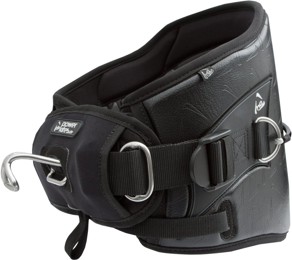 HQ Waist Harness Powerkites schwarz Größe XL Drachen Kite Sport Freizeit günstig
