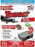 Tomcat Mouse Killer, 2-Pack (Kid and Dog Resistant Disposable Mouse Bait Station)