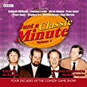 Just a Classic Minute: Volume 1 Radio/TV Program by BBC Audiobooks Narrated by Nicholas Parsons