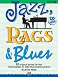 Jazz, Rags & Blues 3 (Buch & CD): 10...